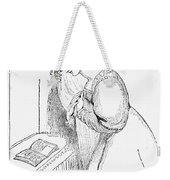 Queen Victoria Sketch Weekender Tote Bag