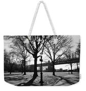 Queens Bridge Park  Weekender Tote Bag