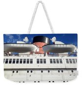 Queen's Life Boats Weekender Tote Bag