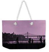 Queensboro Bridge 1 - Manhattan - New York Weekender Tote Bag