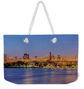 Queensboro Bridge 59th Street Nyc Weekender Tote Bag