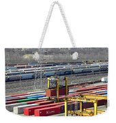 Queensgate Yard Cincinnati Ohio Weekender Tote Bag