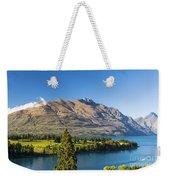 Queenstown Golf Club And Lake Wakatipu Weekender Tote Bag