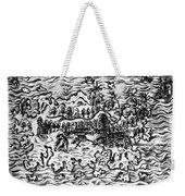Queiros Voyages, 1613 Weekender Tote Bag