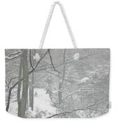 Querida In The Snow Storm Weekender Tote Bag