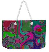 Quiet Abstraction Weekender Tote Bag