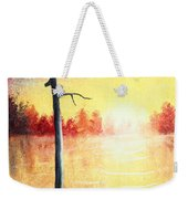 Quiet Evening By The River Weekender Tote Bag