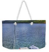Quiet Jetty Weekender Tote Bag by Evelina Kremsdorf
