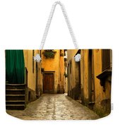 Quiet Lane In Tuscany 1 Weekender Tote Bag