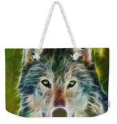 Quiet Majesty - Square Fractalized Version Weekender Tote Bag