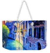 Quiet Morning In Venice Weekender Tote Bag