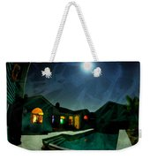 Quiet Night With A Full Moon Weekender Tote Bag