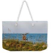 Quiet On The Beach Weekender Tote Bag