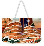 Quiet Snowfall  Sedona  Arizona Weekender Tote Bag
