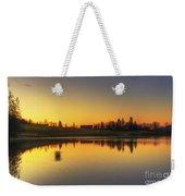 Quiet Sunrise.. Weekender Tote Bag