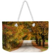 Quiet Vermont Backroad Weekender Tote Bag