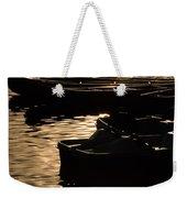 Quiet Waters At Sunset Weekender Tote Bag