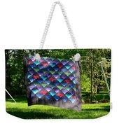 Quilt Top In The Breeze Weekender Tote Bag