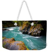 Quinault River Bend Weekender Tote Bag
