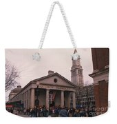 Quincy Market - Boston Massachusetts Weekender Tote Bag