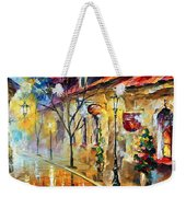 Quite Morning Weekender Tote Bag