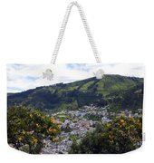 Quito From El Panecillo Weekender Tote Bag