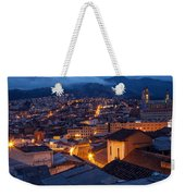 Quito Old Town At Night Weekender Tote Bag