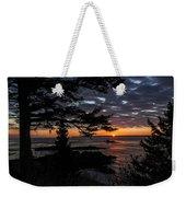 Quoddy Sunrise Weekender Tote Bag