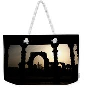 Qutab Minar Complex - New Delhi - India Weekender Tote Bag