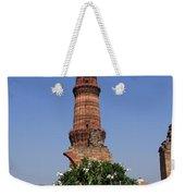 Qutab Minar - New Delhi - India Weekender Tote Bag