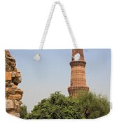 Qutub Minar Weekender Tote Bag