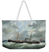 R. Bell And Co.s Steamship Bothal In A Heavy Swell Weekender Tote Bag