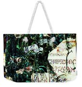 R E M / Exit Chronic Town Weekender Tote Bag