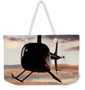 R44 At Sunset Weekender Tote Bag