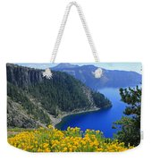D2m5622-rabbit Brush At Crater Lake Weekender Tote Bag