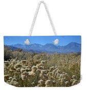 Rabbit Brush Owens Valley Weekender Tote Bag