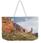 Rabbit Ears Spire At Sunset Weekender Tote Bag