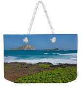 Rabbit Island Weekender Tote Bag