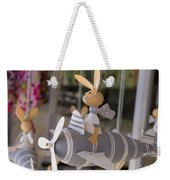 Rabbits Can Fly Weekender Tote Bag