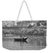 Rabelo Boat Weekender Tote Bag