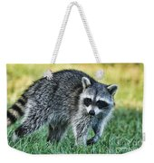 Raccoon Buddy Weekender Tote Bag