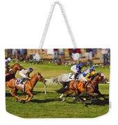 Race 6 - Del Mar Horse Race Weekender Tote Bag