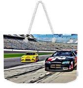 Race Car Track View Weekender Tote Bag