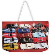 Race Cars Weekender Tote Bag