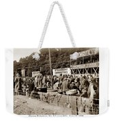 Race Cars Crown Point Indiana June 19 1909 Weekender Tote Bag
