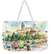 Race In Salamanca Weekender Tote Bag