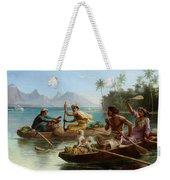 Race To The Market Tahiti Weekender Tote Bag