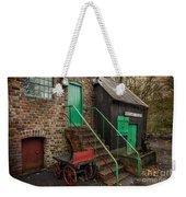 Racecourse Colliery  Weekender Tote Bag by Adrian Evans