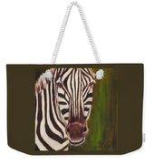 Racer, Zebra Weekender Tote Bag