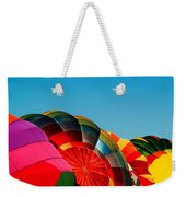 Racing Balloons Weekender Tote Bag by Bill Gallagher